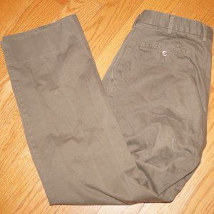 INCOTEX Venezia 1951 Cotton Brown Slacks pants 32